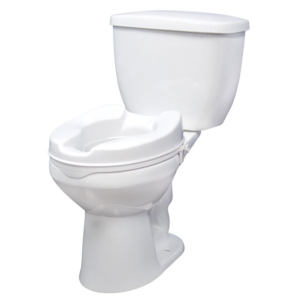Superb Drive Medical Raised Toilet Seat With Lock Standard Seat 4 Pabps2019 Chair Design Images Pabps2019Com
