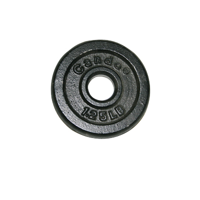 Iron Disc Weight Plate - 1.25 lb