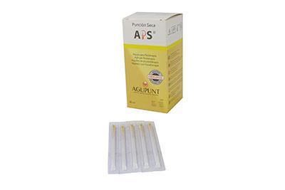 Aps Dry Needling Needle 0 25 X 40mm Yellow Tip 100 Box