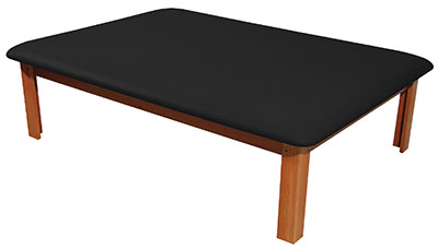 Mat Platform Table 4 1/2 x 6 ft. Black