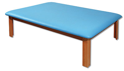 Mat Platform Table 4 1/2 x 6 ft. Light Blue