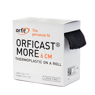 "Orficast™ More Thermoplastic Tape, 2"" x 9' (BLACK)"