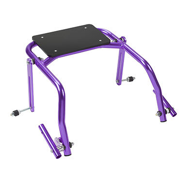 Seat Attachment for Nimbo Posterior Walker, Youth, Wizard Purple