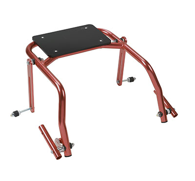 Seat Attachment for Nimbo Posterior Walker, Youth, Castle Red