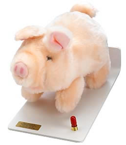 Good-Lite Distance Fixation Animal, Piglet Wired Foot Pedal