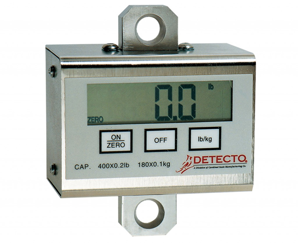 Detecto PL Series Patient Lift Scale, 600 lb Capacity