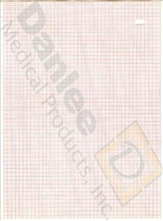 Danlee Marquette 9402-020 Chart Paper, Case of 2400 Sheets of Paper
