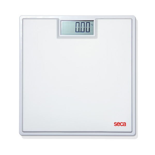 Seca Clara 803 Extra Robust Digital Floor Scale, White Mat