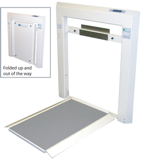 SR Scales Wall Mount Scale with Printer