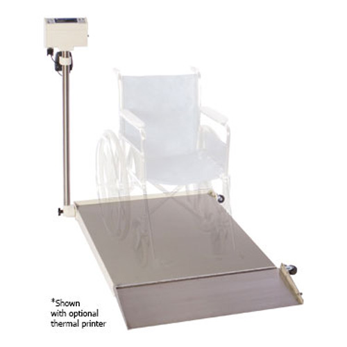 "SR Scales Portable Wheelchair Scale, 32"" x 36"""
