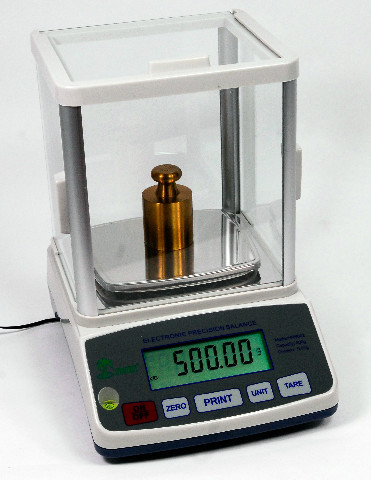 Tree High Resolution Balance Scale with Glass Draft Shield, 100G Capacity