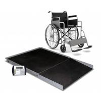 Detecto FHD Series Floor Scale, 3' x 3', 1000 Lb Capacity, Ramp, 758C Indicator