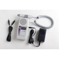 Summit LifeDop Display Hand-Held Doppler w/ Recharger, Audio Recorder & 2MHz OB Waterproof Probe