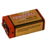Current Solutions TENSCELL 9V Alkaline Premium Battery