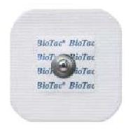 Kendall 7605 Biotac Cloth Electrode, Pouch of 50, Case of 600 Electrodes