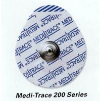 Kendall Medi-Trace 235 Foam Electrodes, Pouches of 5, Case of 600