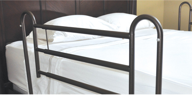 Drive Medical Design Home Style Bed Rails Tool Free