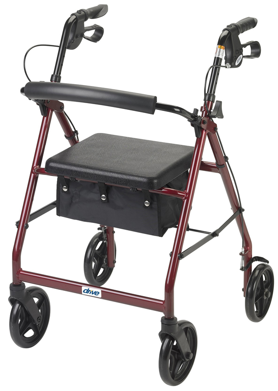 Drive Medical Drive Medical Design Rollator Walker With