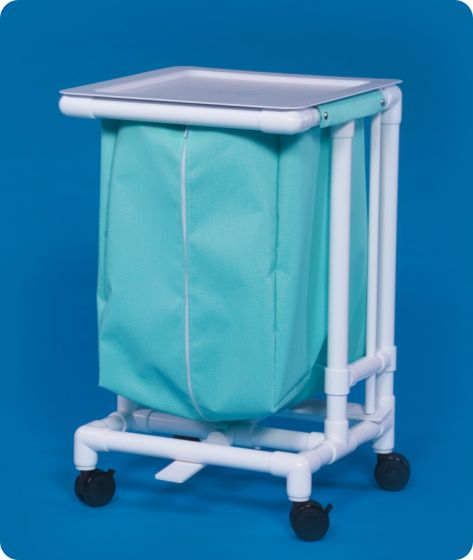 Innovative Products Unlimited Single Jumbo Hamper with Footpedal