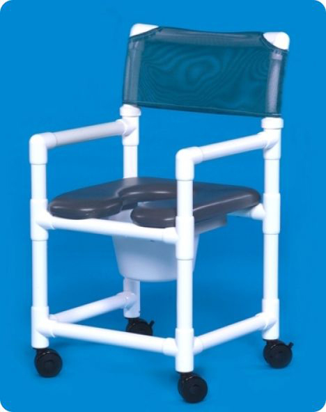 Innovative Products Unlimited Standard Line Open Front Soft Seat Shower Chair Commodes