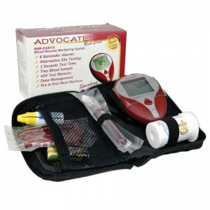 Advocate Redi-Code Plus Speaking Blood Glucose Meter Kit