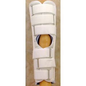 Tetra Medical Supply 3 Panel Knee Immobilizer: 16""