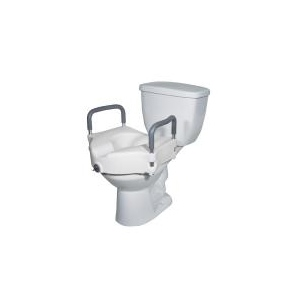 Excellent Drive Medical Elevated Raised Toilet Seat With Removable Pabps2019 Chair Design Images Pabps2019Com
