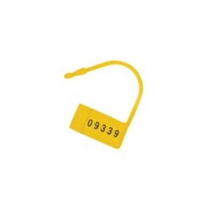 Omnimed Safety Control Seals, with Numbers, Yellow, 100/pk