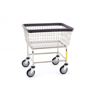 R&B Wire Standard Laundry Cart: Different Colors