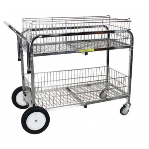 R&B Wire Large Capacity Utility Cart