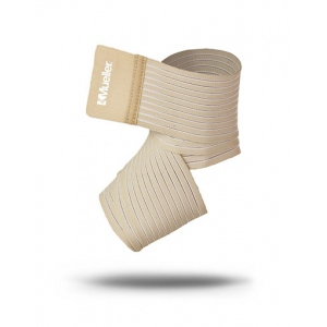 "Mueller® Wonder Wrap™ elastic and nylon wrap, Beige, 3"" x 2.3 ft, S/M"
