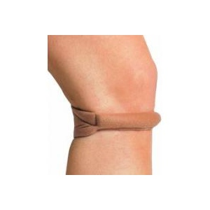 "Cho-Pat Knee Strap, Black, Large (14.5"" - 16.5"")"