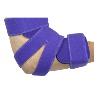 Comfy Splints Elbow Orthosis, Comfyprene Goniometer Elbow: Adult, Camouflage, Neoprene