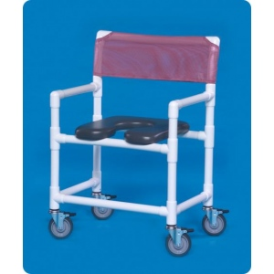 Innovative Products Unlimited Oversize Open Front Soft Seat Shower Chair