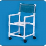 "Innovative Products Unlimited Standard Line Slant Seat Shower Chairs: 16"" Clearance"
