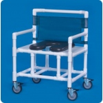 Innovative Products Unlimited Standard Soft Seat Shower Commode: 500 lbs