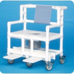 Innovative Products Unlimited Bariatric Shower Commode Chair: 700# Capacity