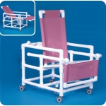 Innovative Products Unlimited Reclining Shower Chair Commode
