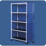 "Innovative Products Unlimited Standard Line Linen Cart: Four Shelves, 45"" x 20"""