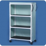 "Innovative Products Unlimited Standard Line Linen Cart: Three Shelves, 36"" x 20"""