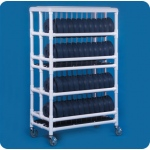 Innovative Products Unlimited Dome Cart: Holds 96 Dome Lids