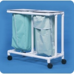 Innovative Products Unlimited Double Linen Hamper: No Footpedal