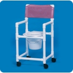 "Innovative Products Unlimited Standard Shower Chair Commode: 20"" Clearance"