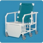 Innovative Products Unlimited Bariatric Reclining Shower Chair Commode