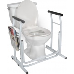 Drive Medical Design Free-Standing Toilet Safety Rail