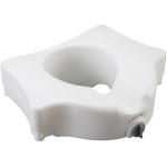 Drive Medical Design Locking Raised Toilet Seat: without Arms