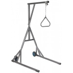 Drive Medical Design Silver Vein Trapeze with Base and Wheels: Free Standing, Heavy Duty