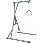 Drive Medical Design Bariatric Heavy Duty Silver Vein Trapeze Bar