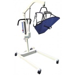 Drive Medical Design Bariatric Electric Patient Lift with Rechargeable Battery and Four Point Cradle