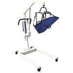 Drive Medical Design Bariatric Electric Patient Lift with Removable Rechargeable Battery and Four Point Cradle